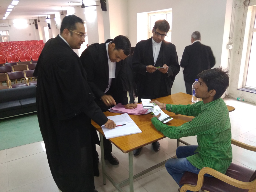 Health Awareness Camp at High Court by rootcure