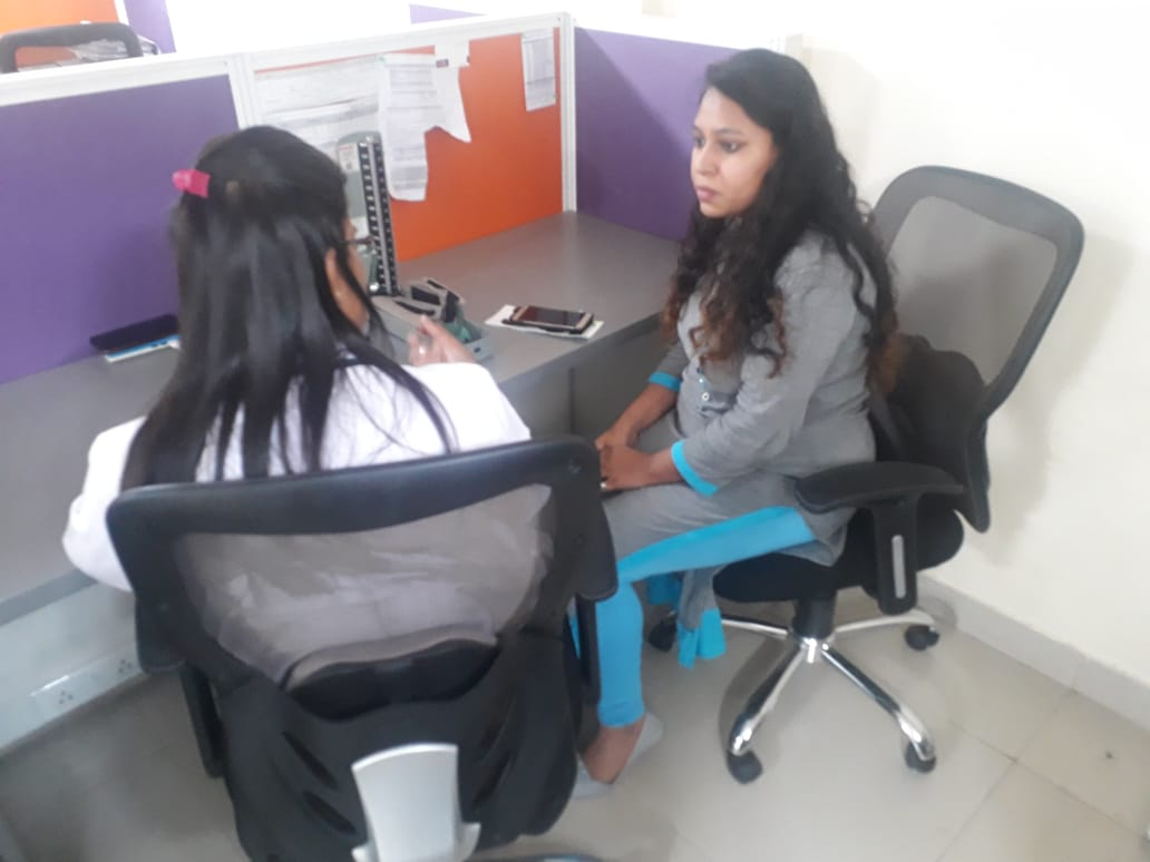Health Awareness Camp at au small finance bank by rootcure