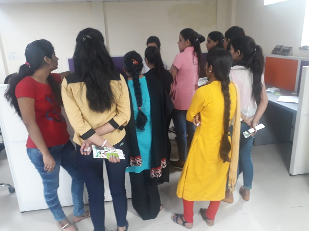 Health Awareness Camp at AU Finance bank by rootcure