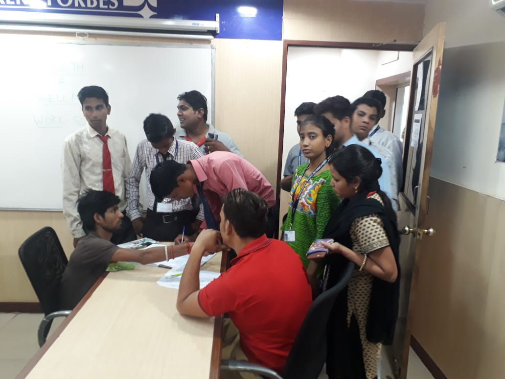 Homeopathic Health Awareness Camp at Eureka forbes regional office, Jaipur by rootcure.in