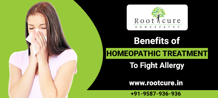 Benefits of Homeopathic Treatment to Fight Allergy-rootcure homeopathy
